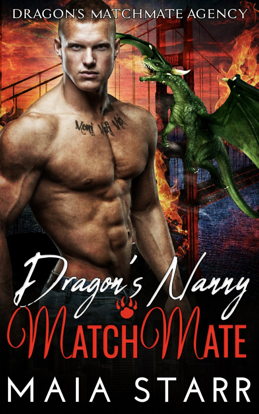 Dragon's Nanny MatchMate by Maia Starr - A Book Review #BookReview #Dragons #3Stars #HEA #StandAlone #Trite #KindleUnlimited #KU