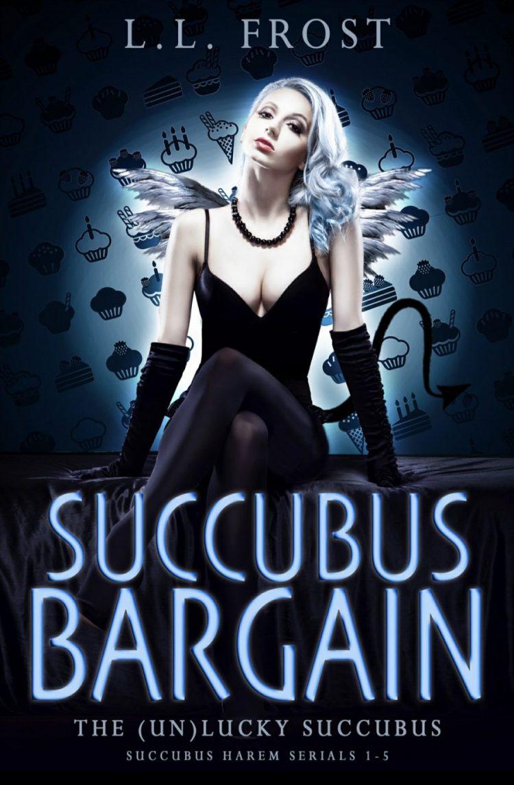 Succubus Bargain (The (Un)Lucky Succubus Serials 1 - 5) by L.L. Frost - A Book Review #BookReview #MediumBurn #RH #PNR #KindleUnlimited #KU