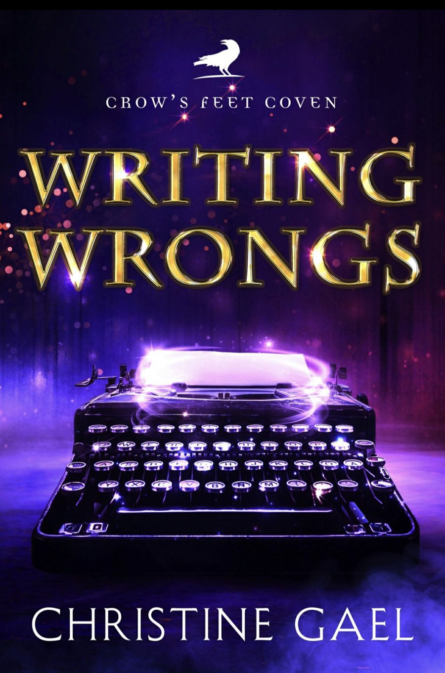 Writing Wrongs by Christine Gael - A Book Review #BookReview #Review #4Stars #PNR #WomensFiction #HotFlash #KindleUnlimited #Ku
