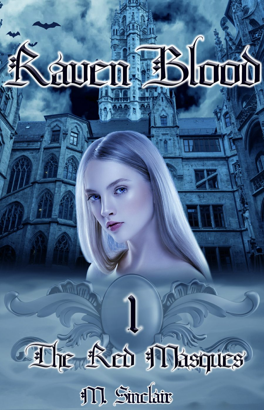 Raven Blood (The Red Masques - Book 1) by M. Sinclair - A Book Review #BookReview #SlowBurn #RH #ReverseHarem #PNR #Fantasy #KindleUnlimited #KU