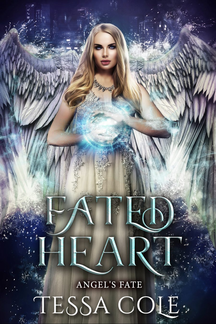 Fated Heart (Angel's Fate - Book 6) by Tessa Cole - A Book Review #BookReview #5Stars #ParanormalFantasy #SeriesComplete #KindleUnlimited #KU #Angels