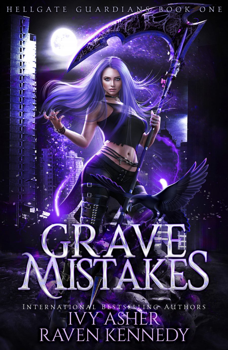 Grave Mistakes by Ivy Asher & Raven Kennedy - A Book Review #BookReview #PNR #SlowBurn #RH #5Stars #NewSeries #KindleUnlimited #KU #RapidRelease