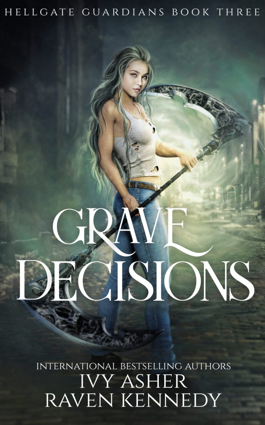 Grave Decisions (Hellgate Guardian's - Book 3) by Raven Kennedy and Ivy Asher - A Book Review #BookReview #5Stars #ParanormalFantasy #Demons #KindleUnlimited #KU