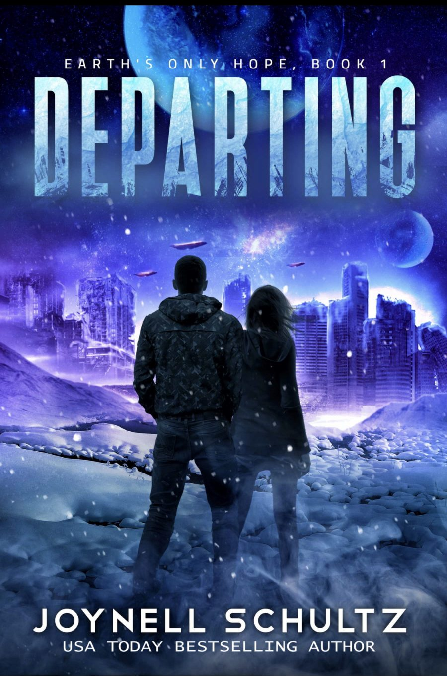 Departing (Earth's Only Hope - Book 1) by Joynell Schultz - A Book Review #BookReview #SciFi #ScienceFiction #4Stars #Romance #Adventure #KindleUnlimited #KU