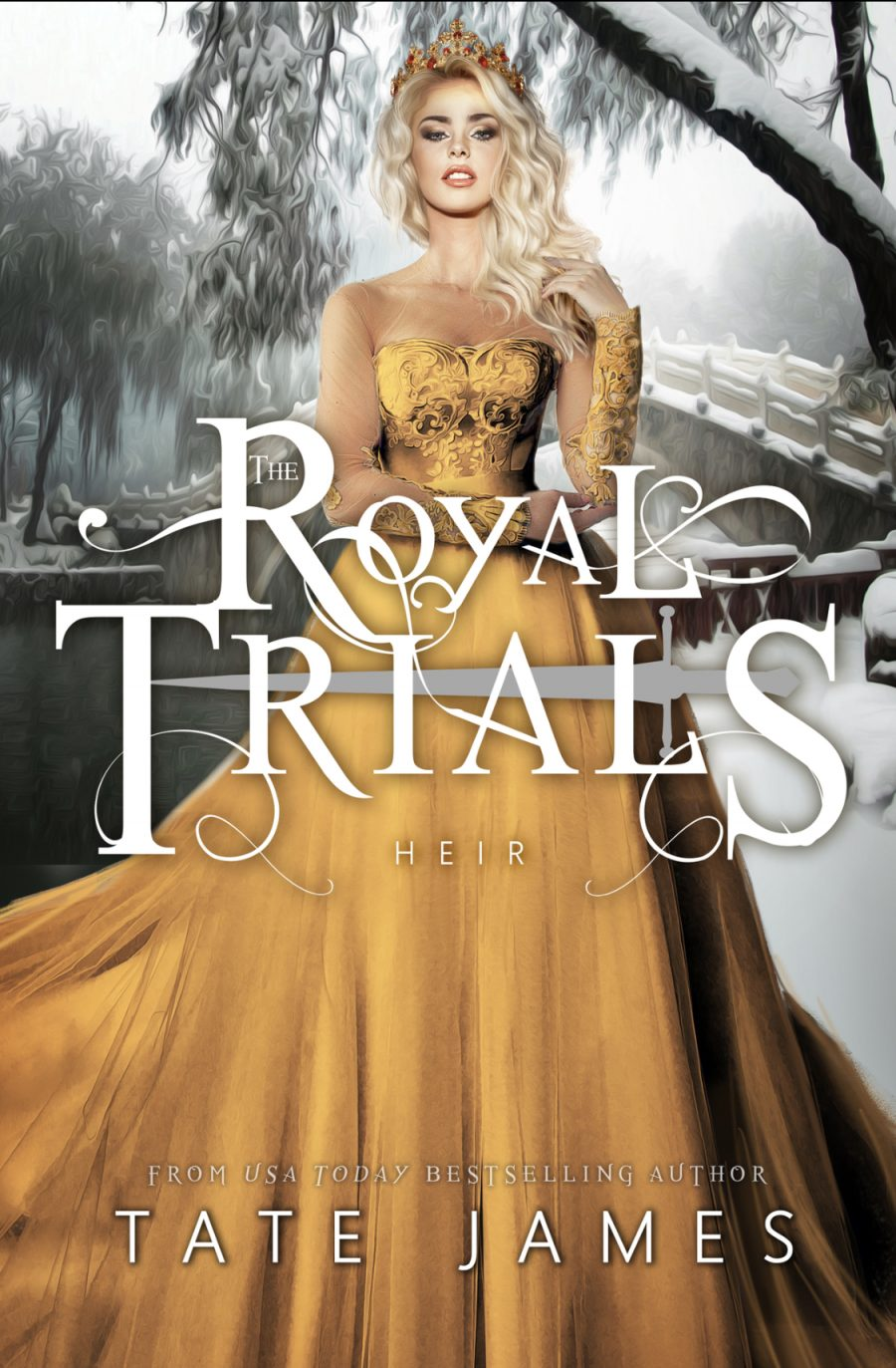 Heir (The Royal Trials - Book 3) by Tate James - A Book Review #BookReview #Fantasy #SlowBurn #RH #WhyChoose #SeriesComplete #5Stars #KindleUnlimited #KU