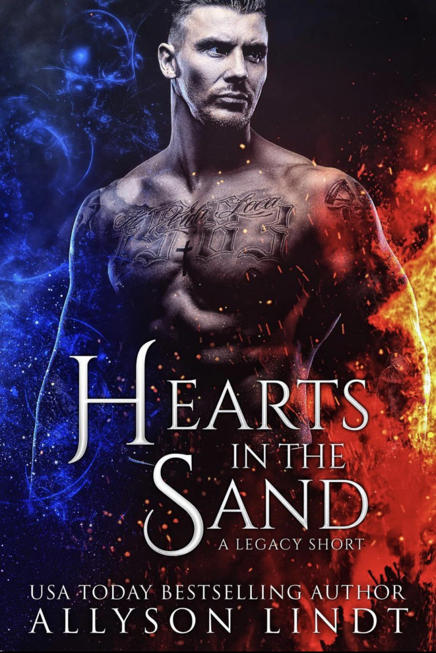 Hearts in the Sand (Legacy - Book #0.5) by Allyson Lindt - A Book Review #BookReview #3Stars #ShortStory #PNR #RH #FastBurn