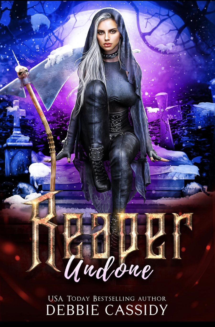 Reaper Undone (Deadside Reapers - Book 5) by Debbie Cassidy - A Book Review #BookReview #SlowBurn #RH #PNR #WhyChoose