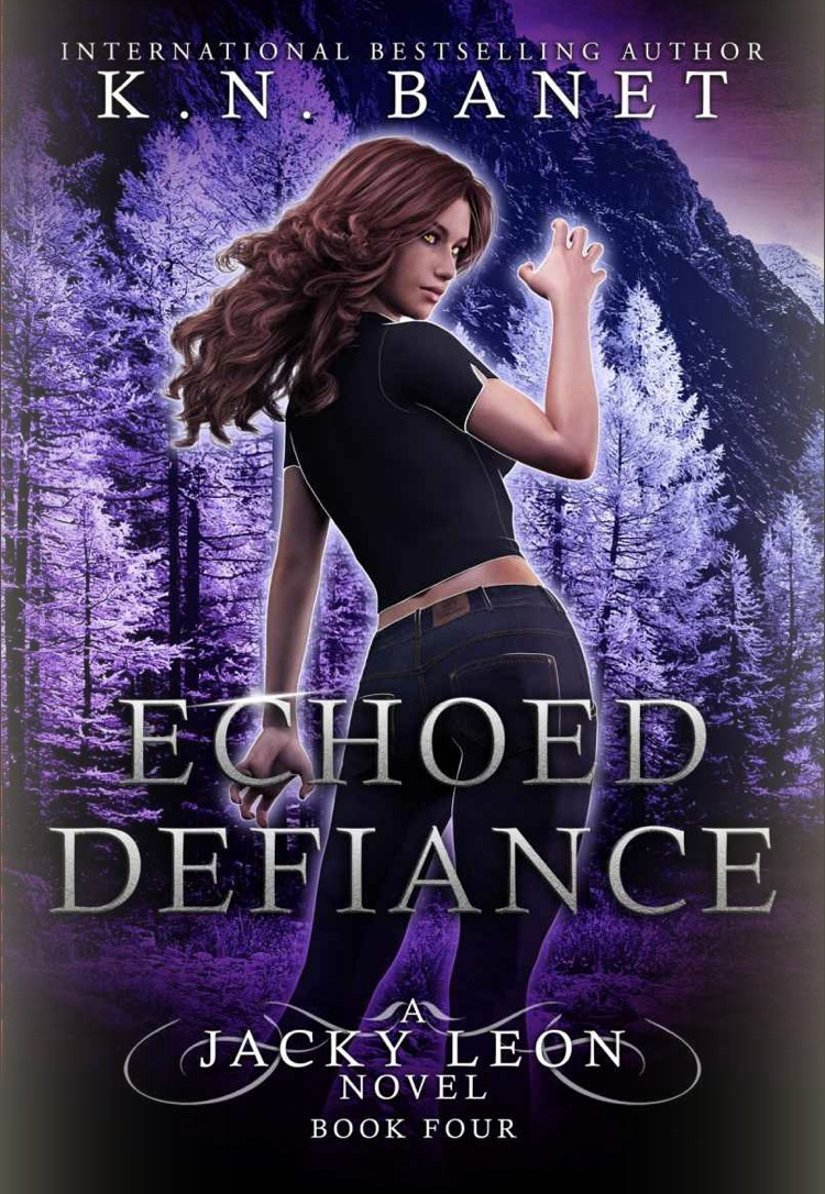 Echoed Defiance by K.N. Banet - A Book Review #BookReview #UF #UrbanFantasy #Series #KindleUnlimited #KU #5Stars