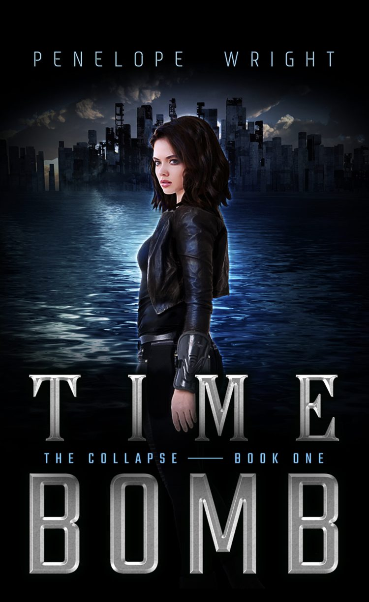 Time Bomb (The Collapse - Book 1) by Penelope Wright - A Book Review #BookReview #SciFi #YA #SeriesComplete #KindleUnlimited #KU