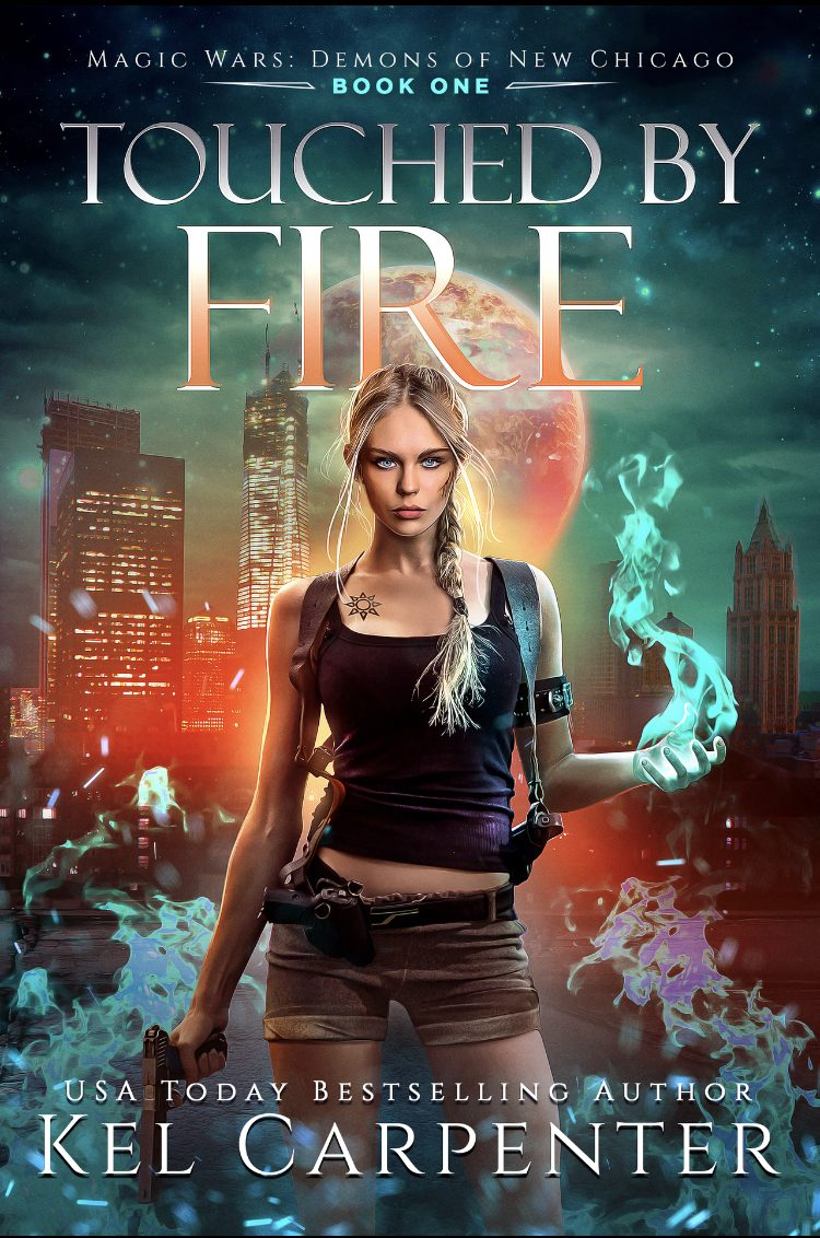 Touched By Fire (Magic Wars: Demons of New Chicago - Book 1) by Kel Carpenter - A Book Review #BookReview #UrbanFantasy #KindleUnlimited #KU #WellDone