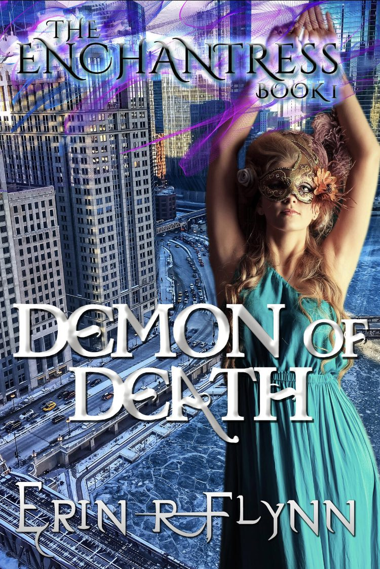 Demon of Death (The Enchantress - Book 1) by Erin R. Flynn - A Book Review #BookReview #MediumBurn #RH #Fantasy #Magic #KindleUnlimited #KU