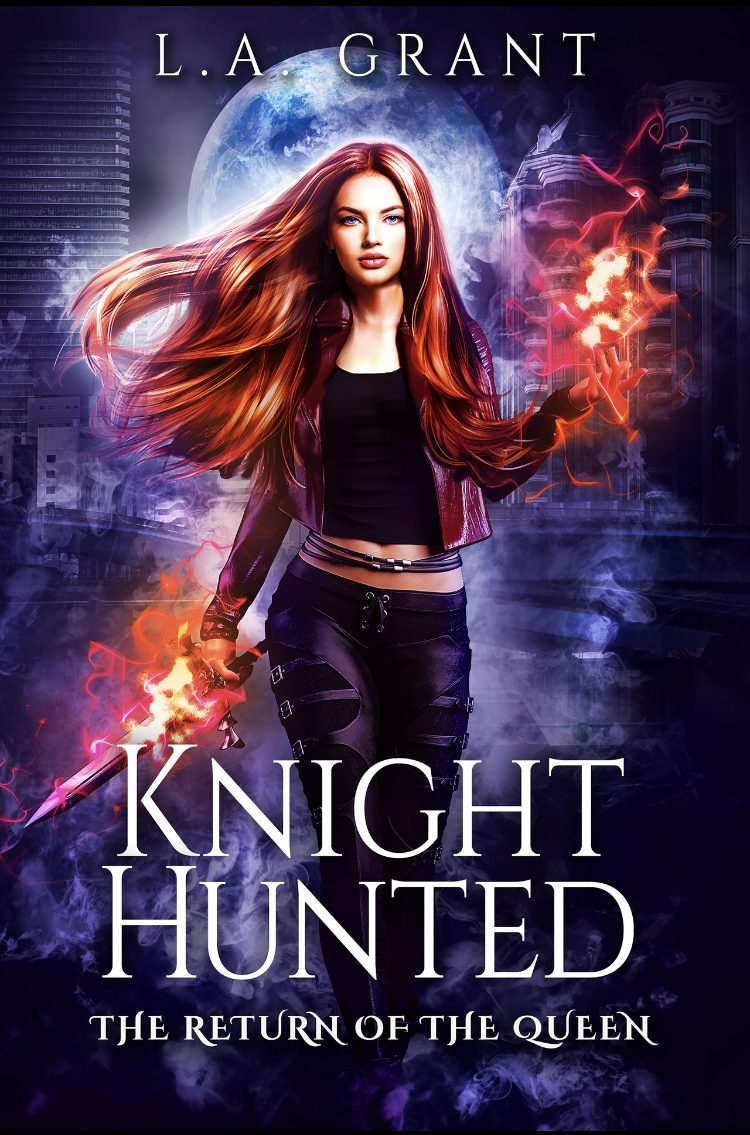 Knight Hunted by L.A. Grant - A Book Review #FastBurn #RH #Fantasy #KingArthur #KindleUnlimited #KU