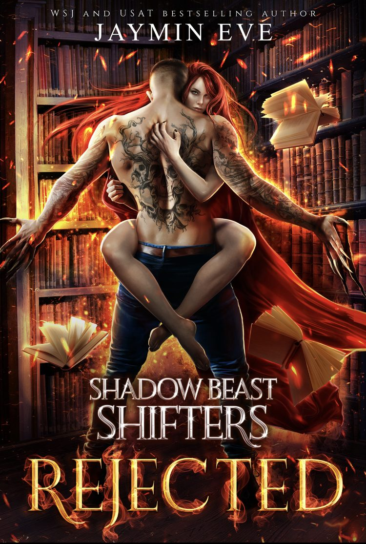 Rejected (Shadow Beast Shifters - Book 1) by Jaymin Eve - A Book Review #BookReview #Paranormal #MustRead #5Star #NewRelease #KindleUnlimited #KU