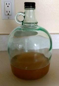Reuse Bottles or Jugs for Easy Storage