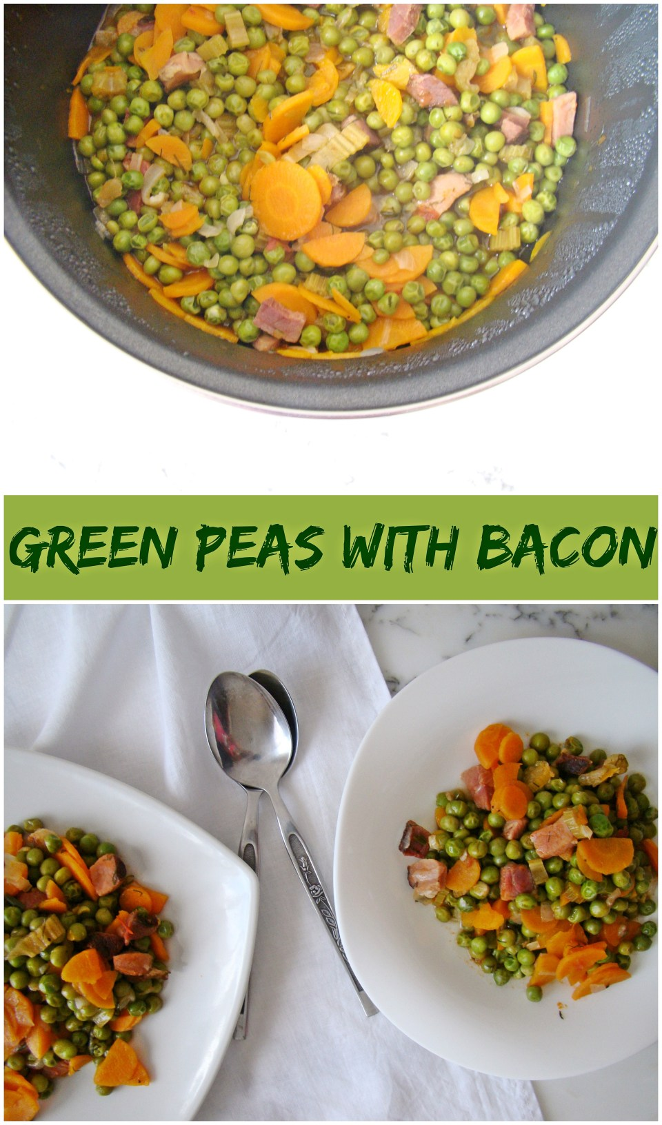 Green Peas with Bacon