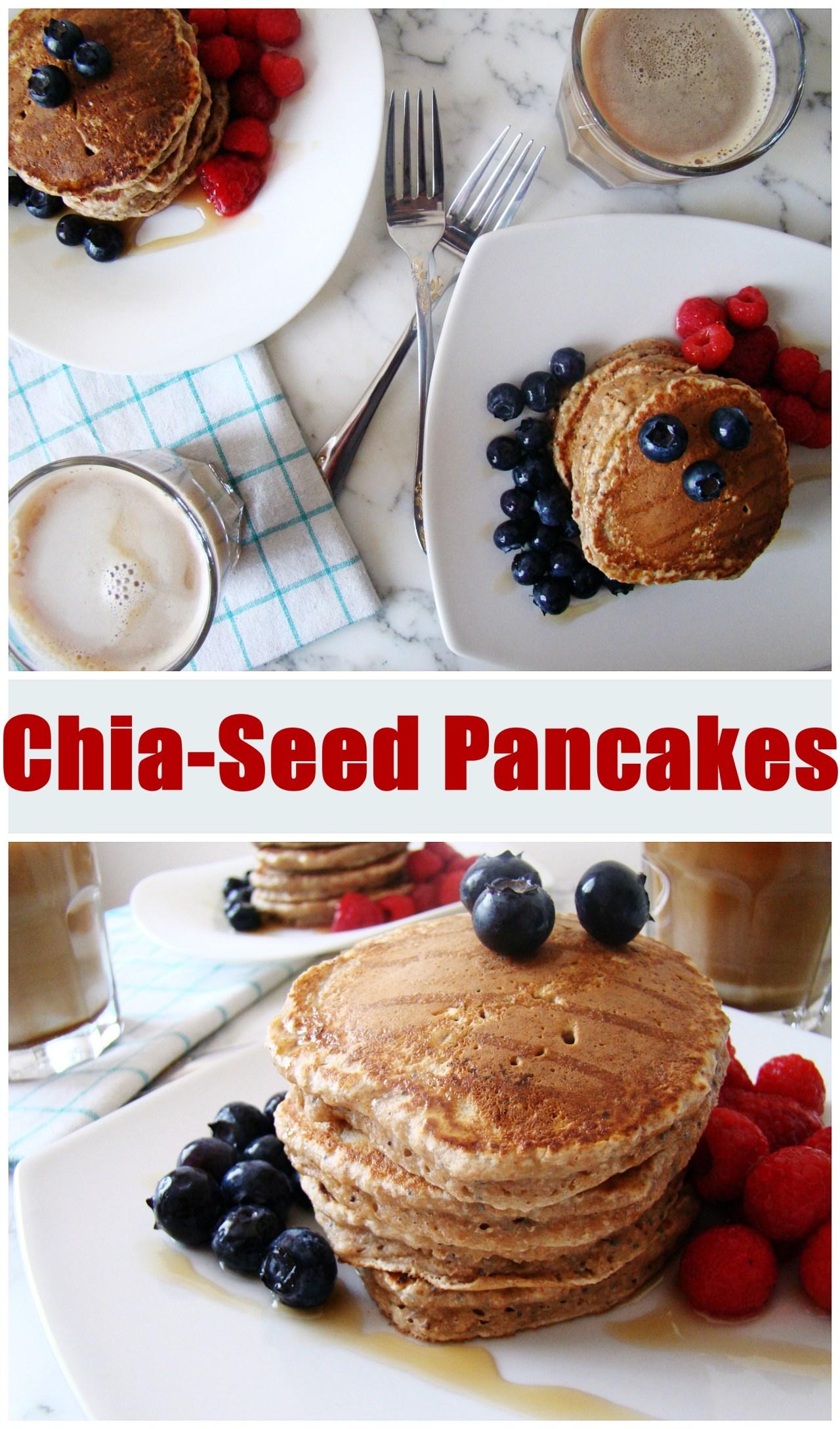 Chia-Seed Pancakes