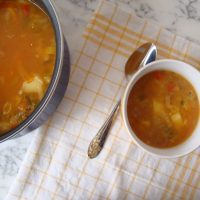 Quinoa and Red Lentil Soup