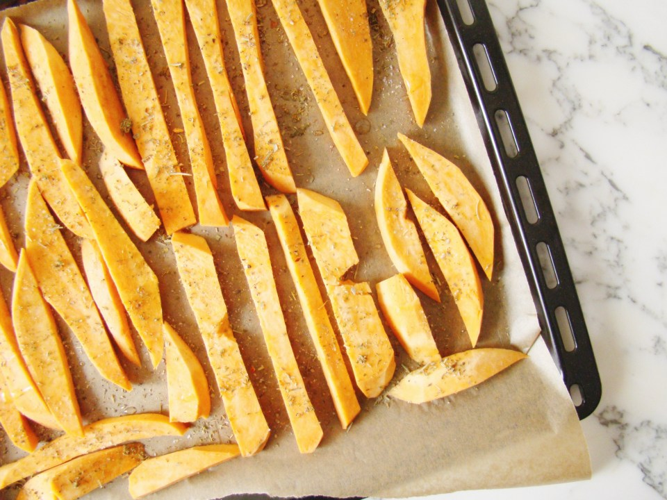 Roasted Sweet Potatoes with Herb de Provence