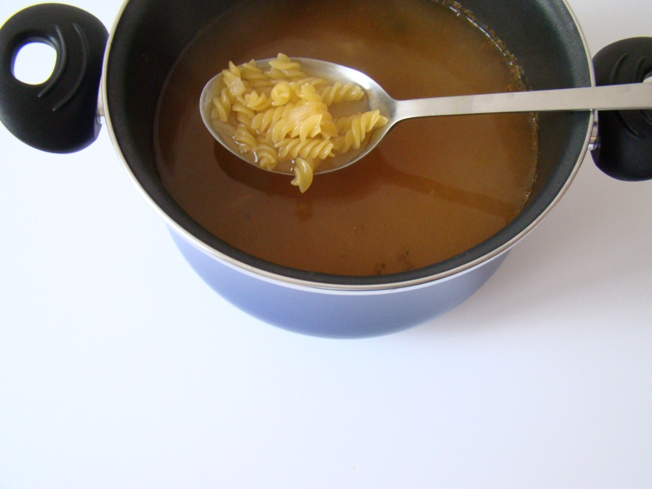 Minestrone Soup with Pasta, Beans and Vegetables