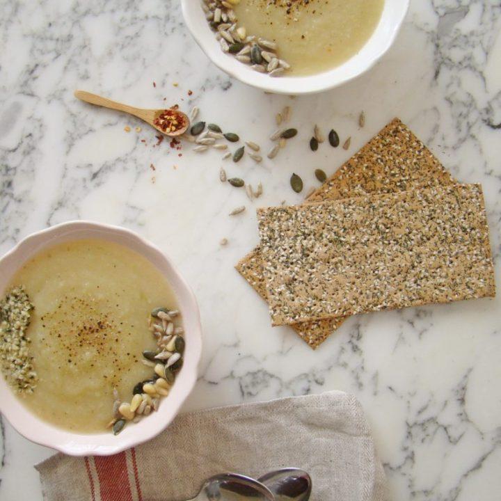 Celery Root Cream Soup