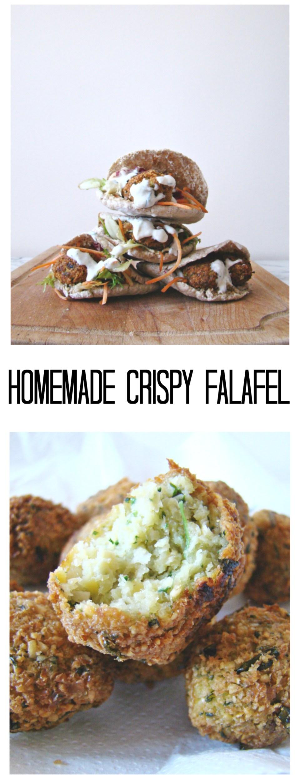 Homemade Crispy Falafel | booksandlavender.com