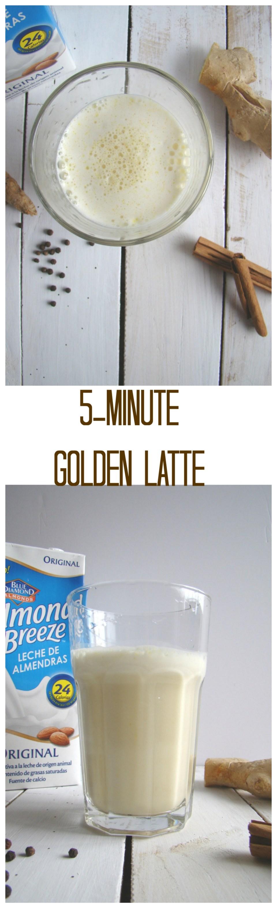 5-minute Golden Latte