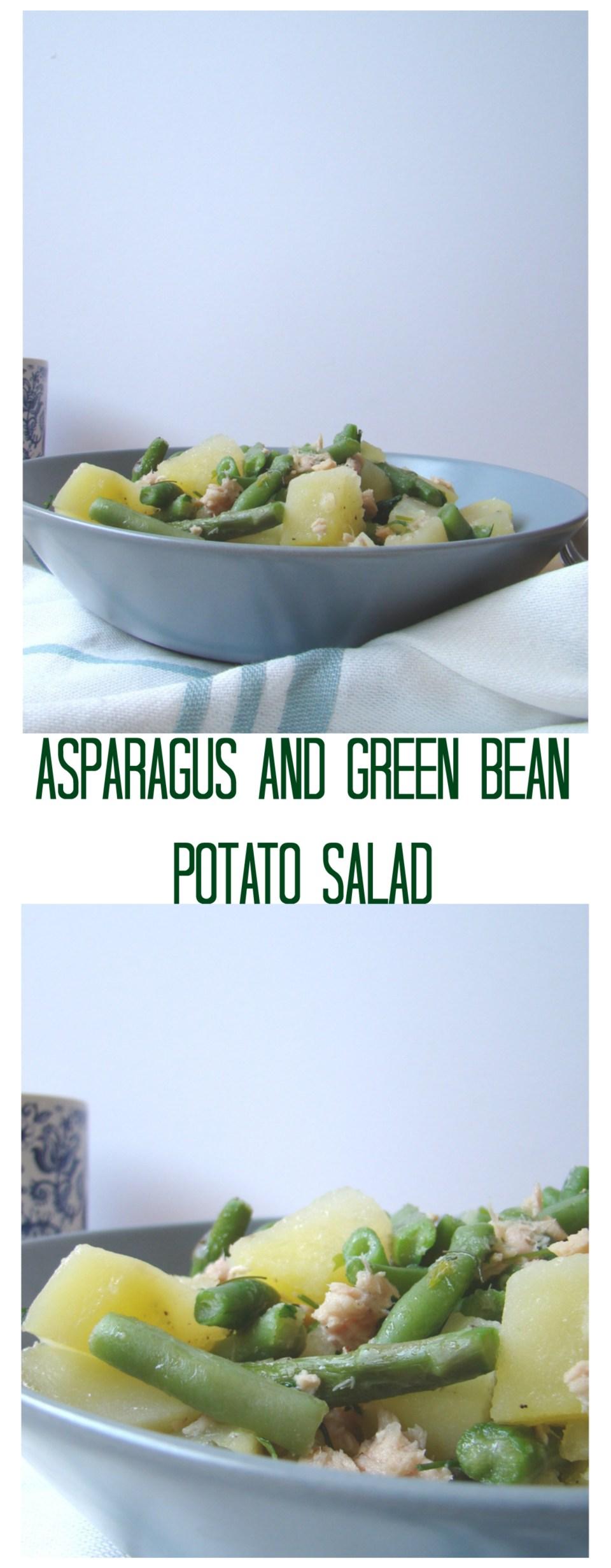 Asparagus and Green Bean Potato Salad