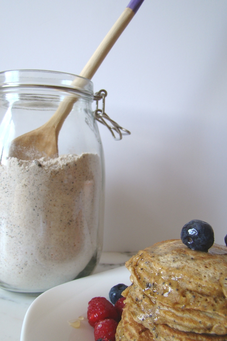 Homemade Poppy Seed Pancake Mix