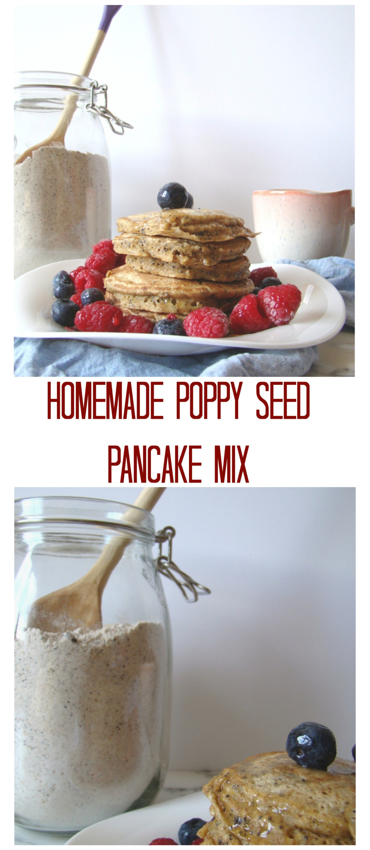 homemade pancake mix poppy seed pancake mix welcome to my kitchen 12070