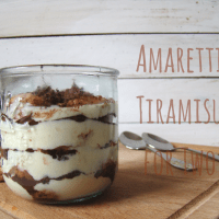 Amaretti Tiramisu for Two