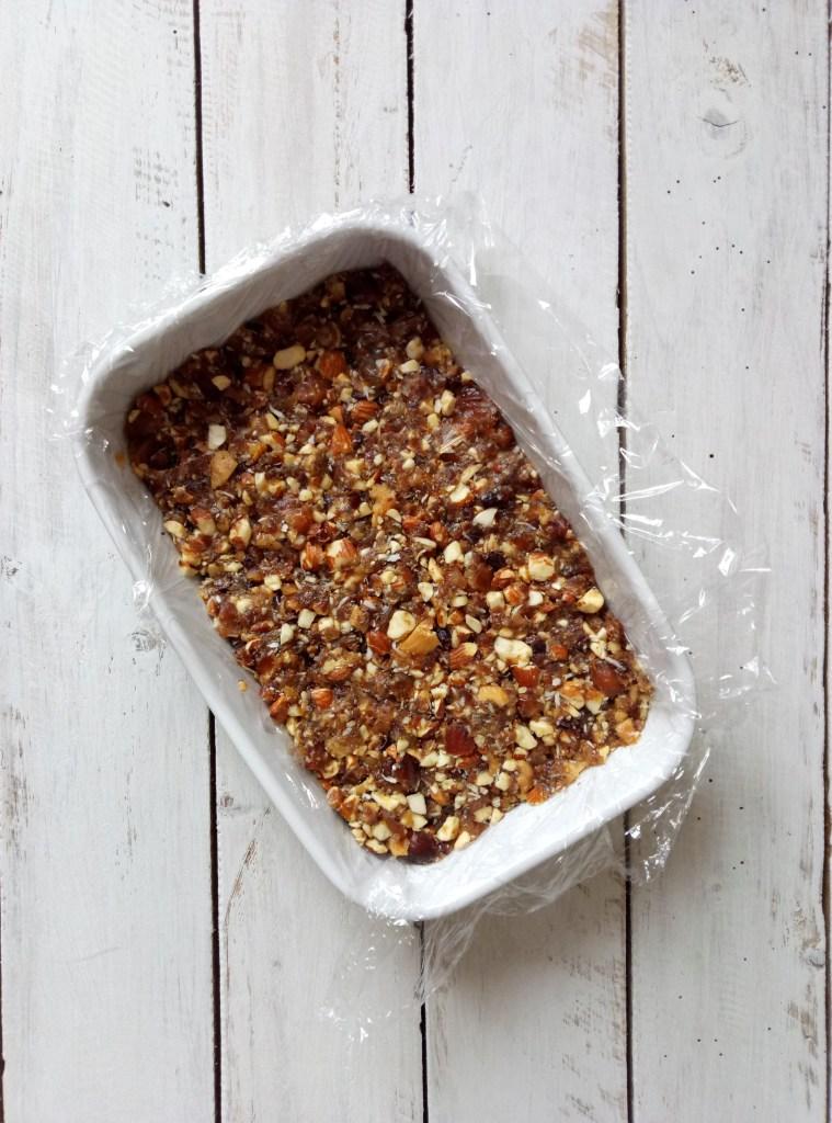 Almond Cacao Nibs Energy Bars