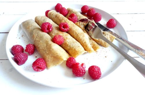 Nutella and Raspberry Crêpes | booksandlavender.com