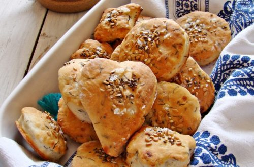 yogurt dill biscuits
