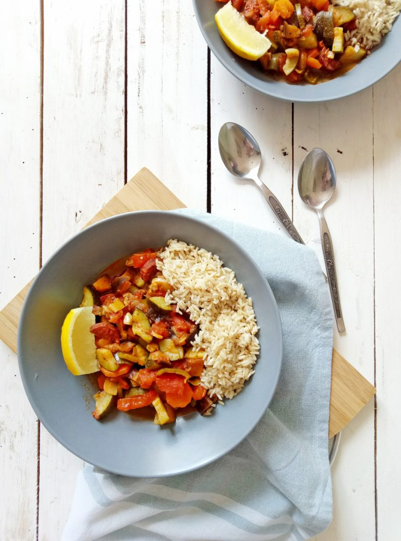 Vegetable and Chorizo Stew