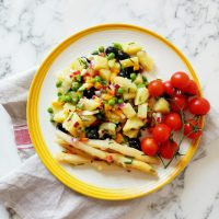 Fresh Potato Salad With Vinaigrette
