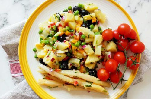 Fresh Potato Salad With Vinaigrette