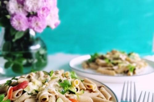 Easiest Tuna Pasta | booksandlavender.com