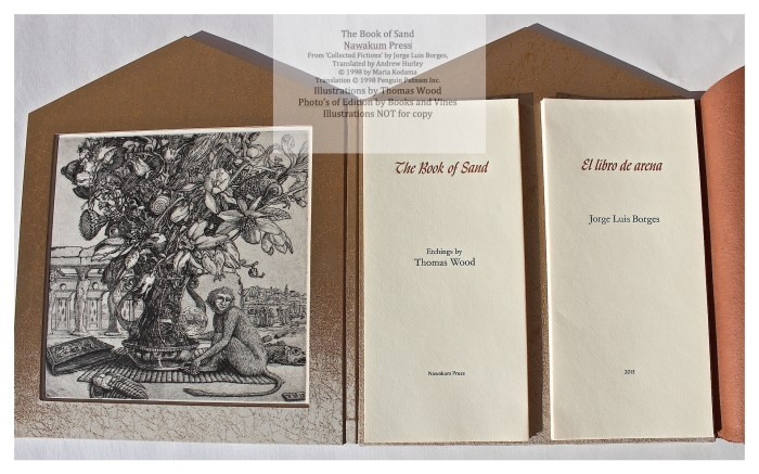 The Book of Sand, Nawakum Press, Second View of Open Book