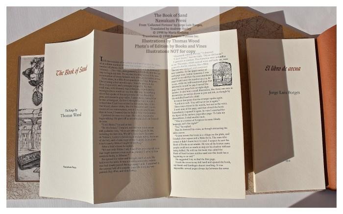 The Book of Sand, Nawakum Press, Accordion Fold