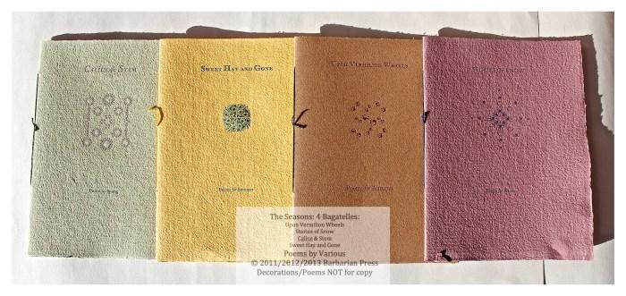The Seasons: Four Bagatelles, The Bagatelles, Barbarian Press