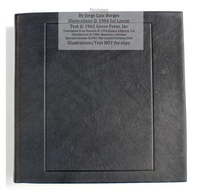 Ficciones, Limited Editions Club, Cover