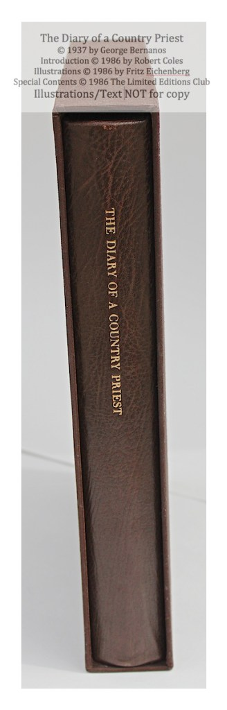 The Dairy of a Country Priest, Limited Editions Club, Book in Slipcase