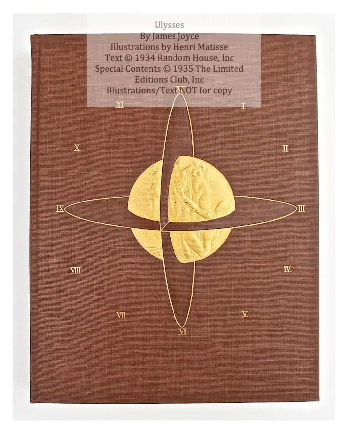 Ulysses, Limited Editions Club, Cover