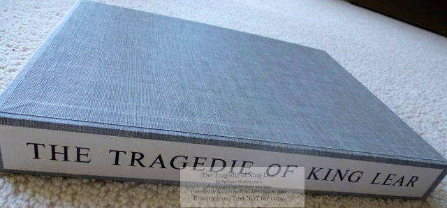 King Lear, Janus Press, Slipcase