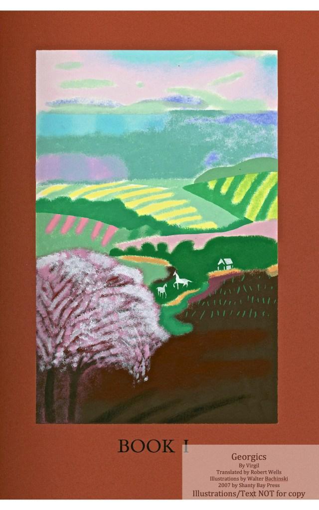 Georgics, Shanty Bay Press, Book One Pochoir