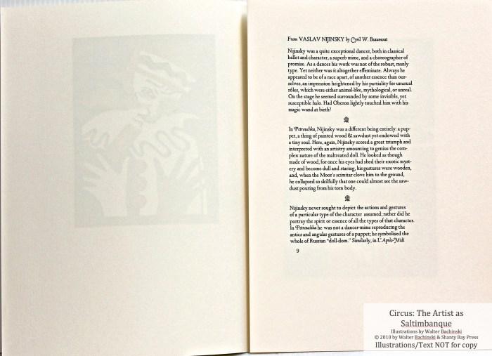 Shanty Bay Press, List of Illustrations, Sample Text #3