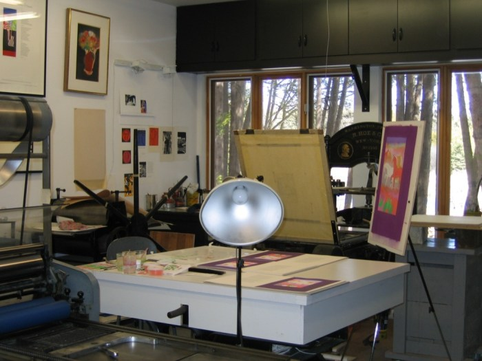 Shanty Bay Press, From Pastel to Pochoir