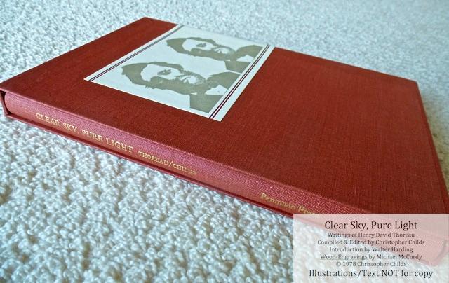 Clear Sky, Pure Light, The Penmaen Press, Book in Slipcase