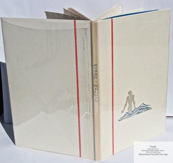 Youth, Allen Press, Spine and Cover