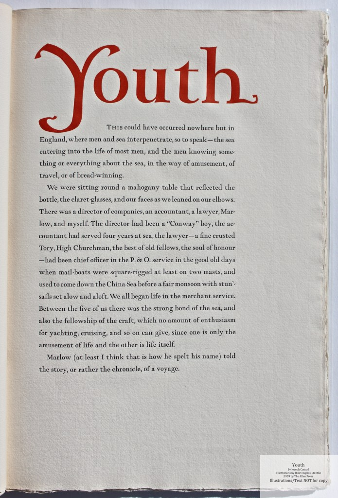Youth, Allen Press, Sample Text
